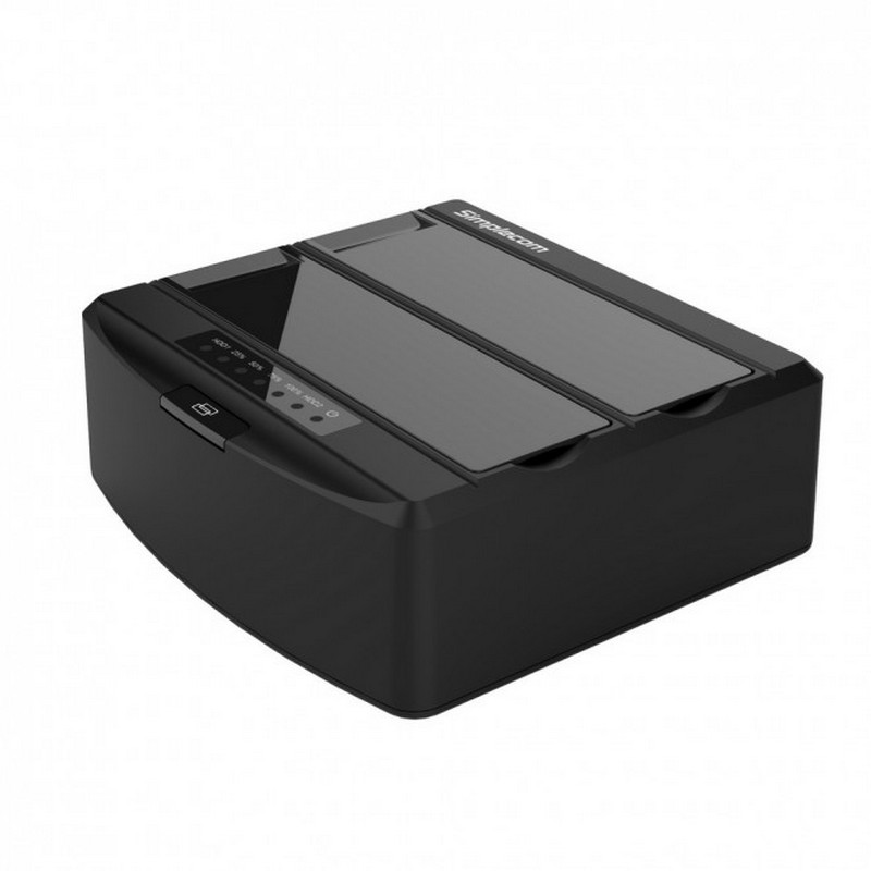 "Simplecom SD312 2.5""/3.5"" Dual Bay USB3.0 HDD Dock - Black"