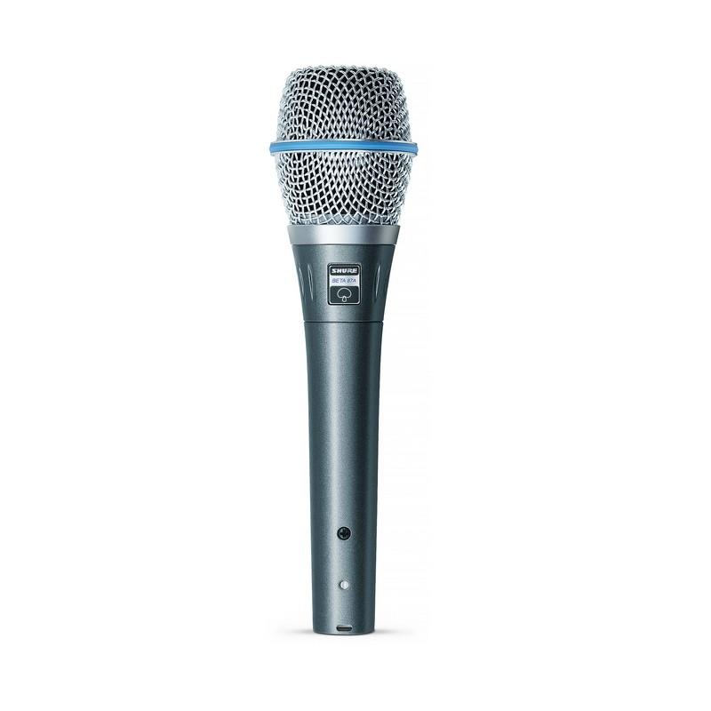 Shure BETA87A Condenser Vocal Microphone