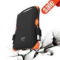 Silicon Power 1TB Rugged A30 Shockproof USB 3.0 Portable External Hard Drive for PC, Mac,
