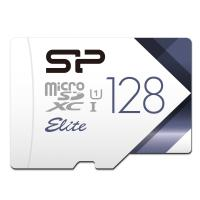 Silicon Power Elite 128GB microSDXC UHS-1 Memory Card - 85MB/s with Adapter