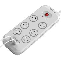 Huntkey 6 Outlet Surge Protector w 2 USB Charging Port