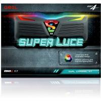 Geil 16GB (2x8GB) GLWC416GB2400C16DC DDR4 2400MHz Super Luce RGB Led White