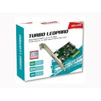 Welland Turbo Leopard UP-312-3 2-Port USB-A & USB-C PCI-E 2.0 Card w/Extra Low-Profile Bracket