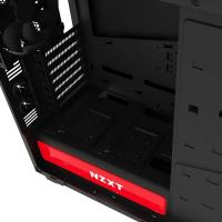 NZXT Black & Red H440 Mid Tower Chassis (USB3)
