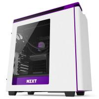 NZXT White & Purple H440 Mid Tower Chassis (USB3)