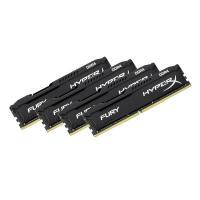Kingston 32GB (4x8GB) HX426C16FB2K4/32 DDR4 2666MHz HyperX Fury Black