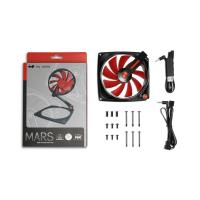 Inwin MARS Transformer Fan Black/Red 120MM