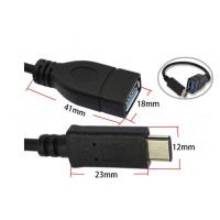 USB3.1 Type-C Male to USB3.0 Type-A Female OTG Cable