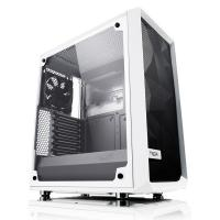 Fractal Design Meshify C Mid Tower White Tempered Glass