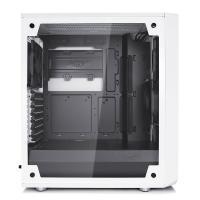 Fractal Design Meshify C Mid Tower White Tempered Glass