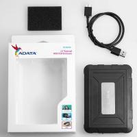 "ADATA ED600 External 2.5"" SATA to USB3.1 Rugged Enclosure"