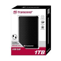 Transcend 2TB USB 3.0 Rugged Portable Hard Drive BLK