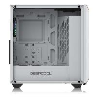 Deepcool Earlkase RGB Case w/ Expandable RGB Lighting White