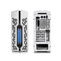 Deepcool Genome Mid Tower Case w Integrated 360mm LCS White / Blue Helix