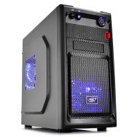 Deepcool Smarter Micro ATX Case with LED Includes 2x Blue 120mm LED Fans