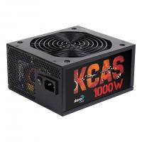 Aerocool KCAS 1000M PSU 1000W 14cm ATX12V Ver.2.4, 6x PCIe 6+2pin, 10x SATA connectors OVP/UVP/OPP/S