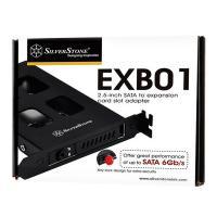 """Silverstone EXB01 2.5"""" SATA HDD Bay PCIe Slot"""