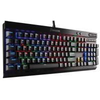 Corsair Gaming K70 LUX RGB Mechanical Keyboard, Backlit RGB LED, Cherry MX Silent RGB