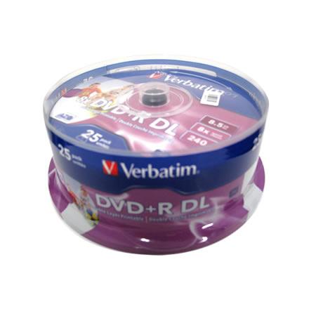 Verbatim DVD+R DL 8.5GB 25PK