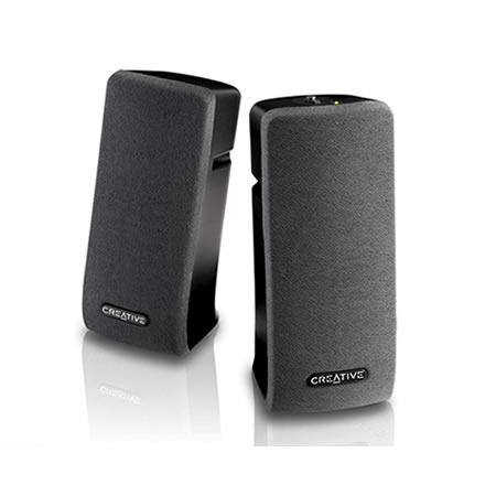 Creative SBSA35 Speakers 2.0 Black 1Wx2 RM