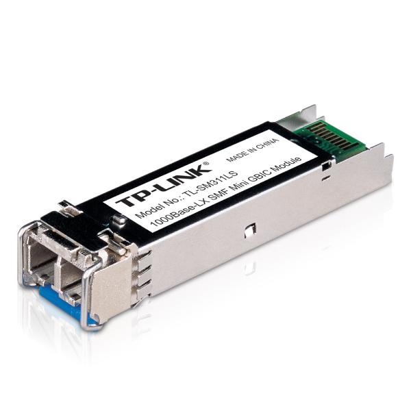 TP-LINK TL-SM311LS - Gigabit SFP module, Single-mode, MiniGBIC, LC interface, Up to 10km distan