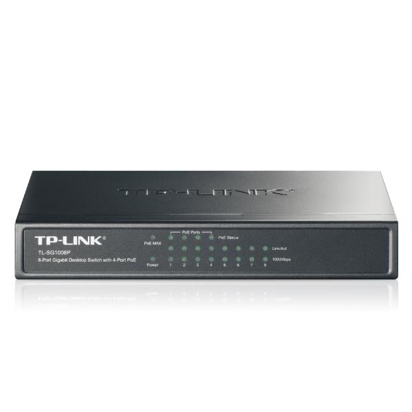 TP-LINK TL-SG1008P 8-port POE Gigabit Switch