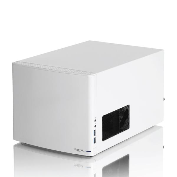Fractal Design Node 304 Mini ITX/DTX Case USB3.0 / No PSU White