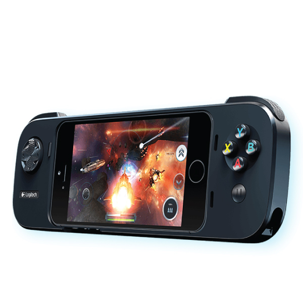 Logitech PowerShell Gaming Controller + Battery for iPhone/iPod