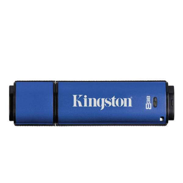 Kingston DTVP30AV/8GB 256bit AES Encrypted USB 3.0 + ESET AV