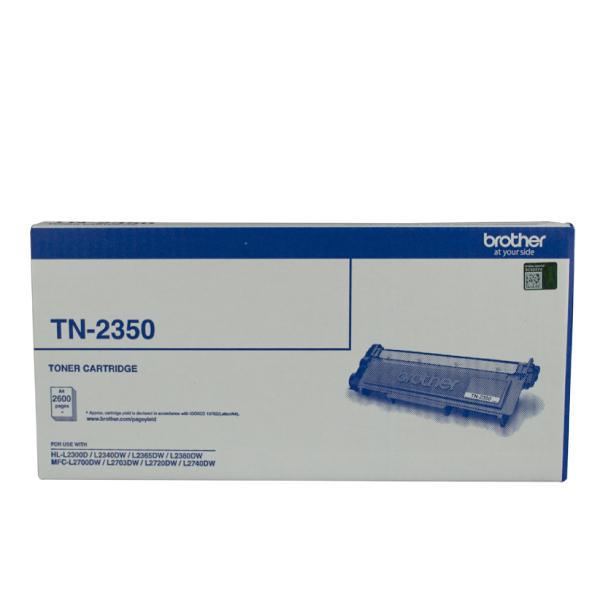 Brother TN-2350 MONO LASER TONER - HIGH YIELD CARTRIDGE TO SUIT HL-L2300D/L2340DW/L2365DW/2380DW/MFC