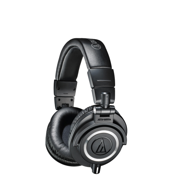 Audio-Technica ATH-M50X Professional Studio Monitor Headphones Black
