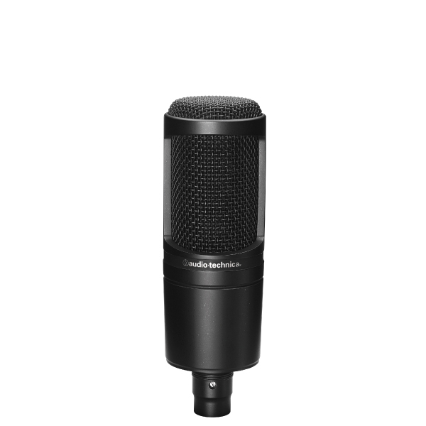 Audio-Technica AT2020 XLR Recording Microphone Black