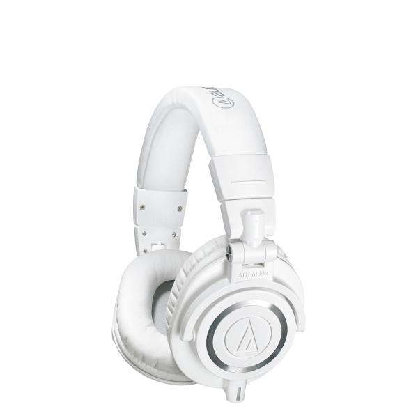 Audio-Technica ATH-M50X Professional Studio Monitor Headphones White