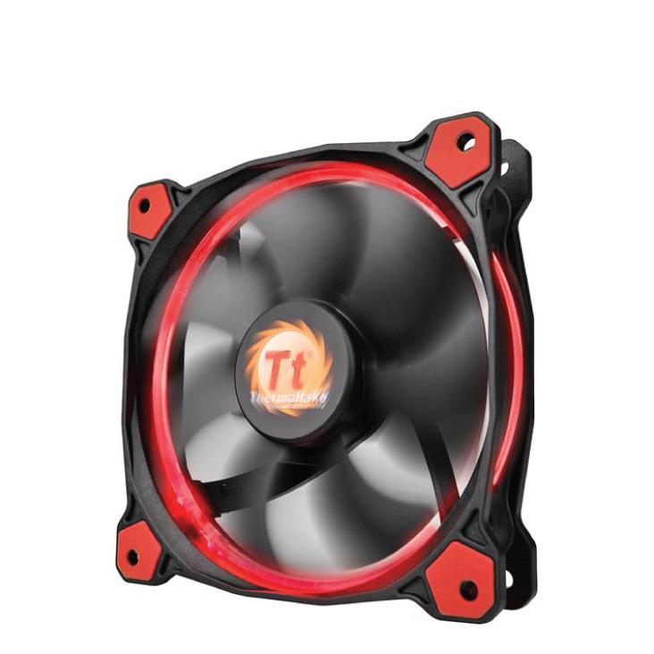 Thermaltake Riing 12 High Static Pressure 120mm Red LED Fan