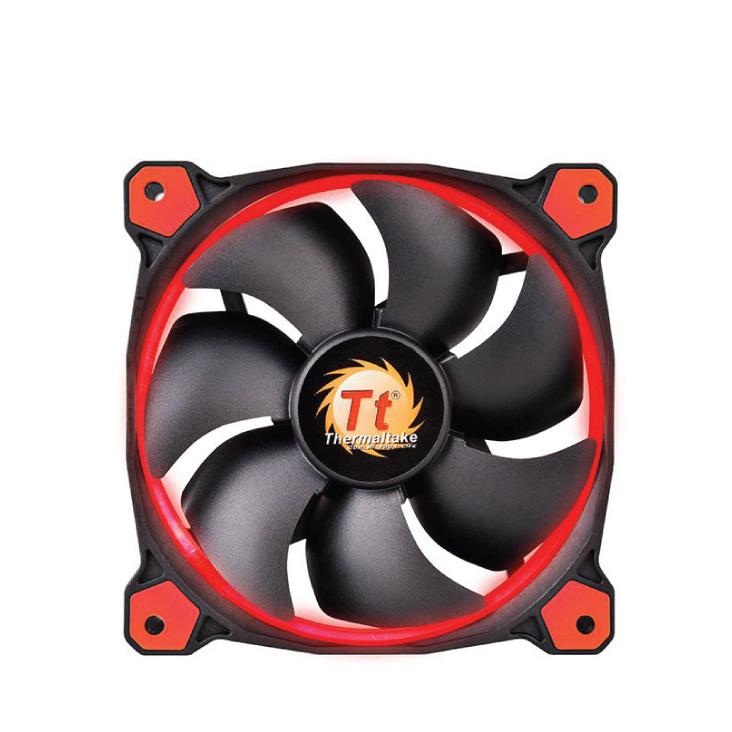 Thermaltake Riing 14 High Static Pressure 140mm Red LED Fan