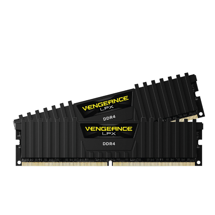 Corsair 32GB (2 x 16GB) CMK32GX4M2B3000C15 DDR4 3000MHz Vengeance LPX Black