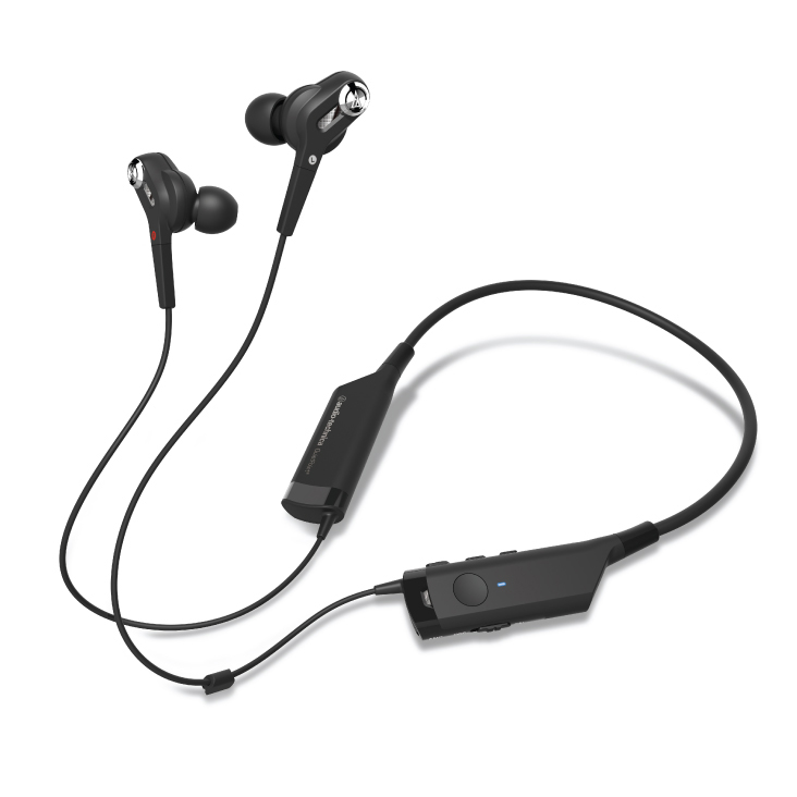 Audio-Technica ATH-ANC40BT Active Noise Cancelling Wireless In-Ear Headphones