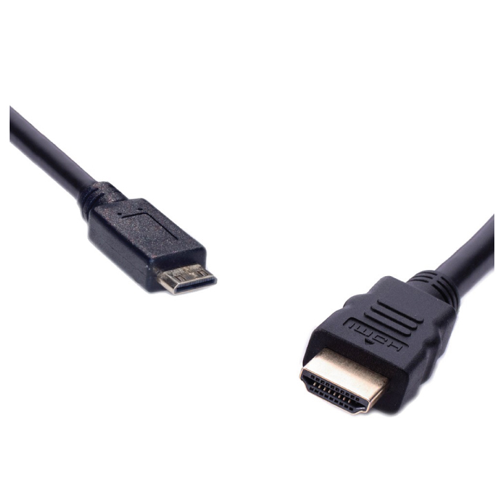 8ware High Speed HDMI Cable Male to Mini Male 2m in Blister Box