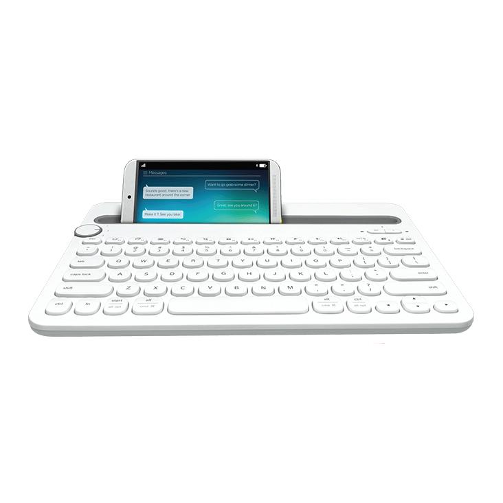 9a96a9a3255 Logitech Bluetooth Multi Device Keyboard K480 White - Umart.com.au