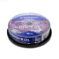 Verbatim 10PK DVD+R 8.5GB Double Layer