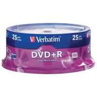 Verbatim DVD+R 4.7GB 25PK Spindle