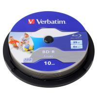 Verbatim Blu-Ray BD-R 25Gb 10pk 6X