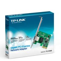 TP-LINK TG-3468 32-bit Gigabit PCIe Network Adapter, Realtek RTL8168B, 10/100/1000Mbps Auto-Negotiat