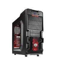 CoolerMaster RC-K380 Gaming Case w/window No PSU