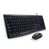 Logitech MK200 USB Keyboard and Mouse w Media Key