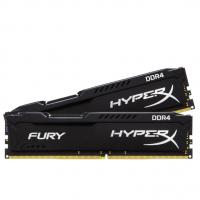 Kingston 8GB (2 x 4GB) HX424C15FBK2/8 2400MHz DDR4 Non-ECC CL15 DIMM HyperX FURY Black Series