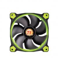 Thermaltake Riing 14 High Static Pressure 140mm Green LED Fan