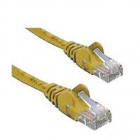 Cat 6 UTP Ethernet Cable, Snagless - 0.5m (50cm) Yellow