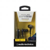 Audio-Technica ATH-CKS550iSBK Solid Bass In-Ear Headphones & Smartphone control Black