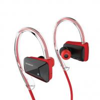 Simplecom NS200 Bluetooth Neckband Sports Headphones with NFC Red
